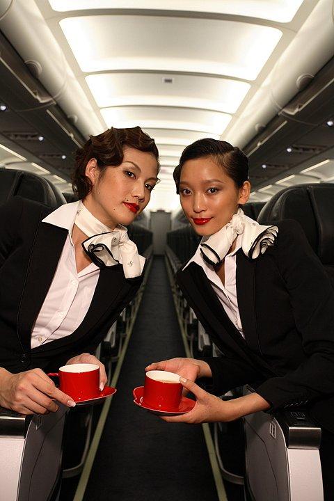 Anne Watanabe for Conde Nast Traveler Starflyer Japan