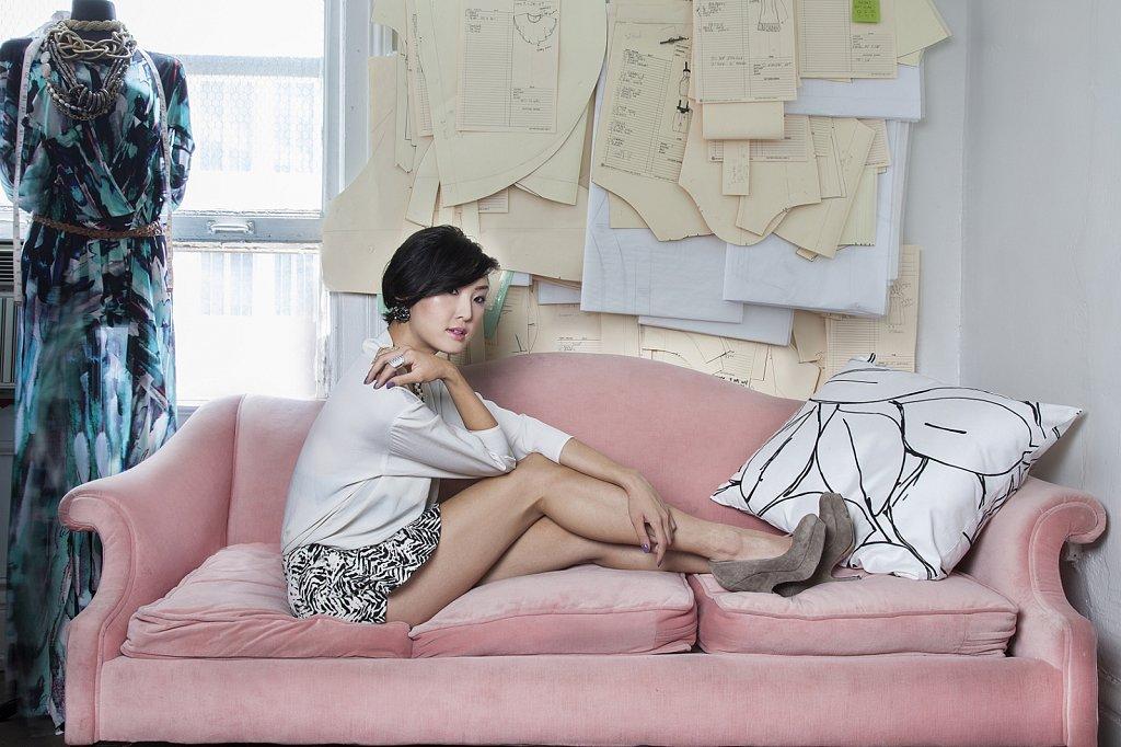 Chriselle Lim for Wallpaper