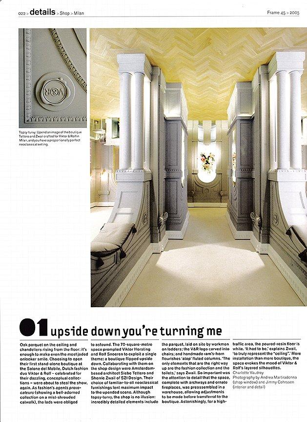 Frame Magazine July Aug 2005