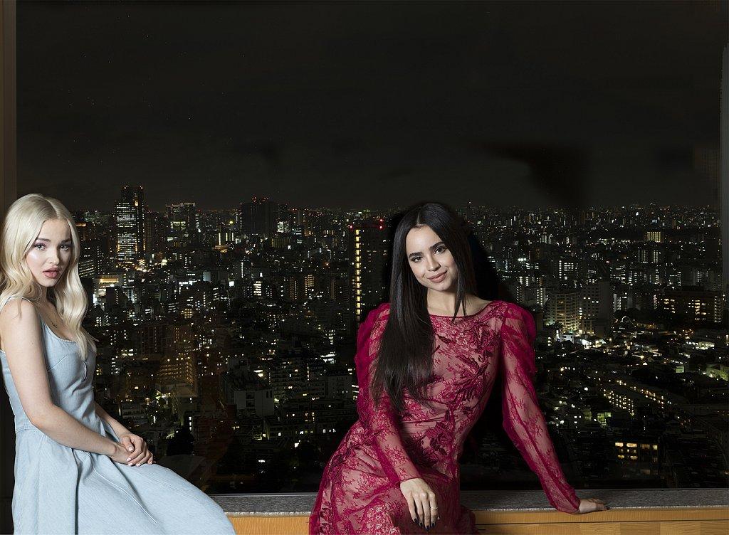 Dove Cameron & Sofia Carson for Vogue Japan