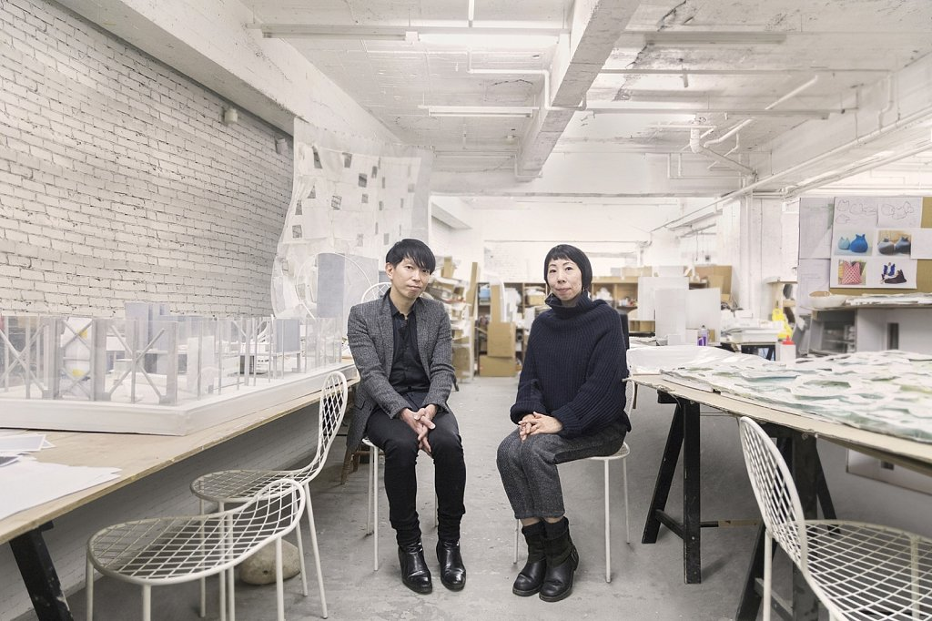 Juny Ishigami & Rinko Kawauchii for Vogue Japan